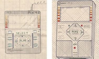 1979 music player patent application by Kane Kramer