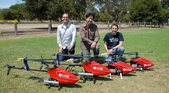 photo of Stanford Autonomous Learning Helicopters