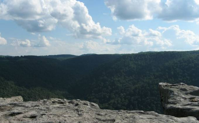 photo of Coopers Rock State Forest in West Virginia