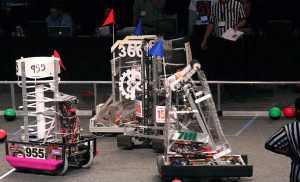 photo of FIRST robots competition