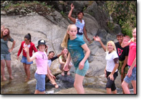 Girls in Science camping trip photo