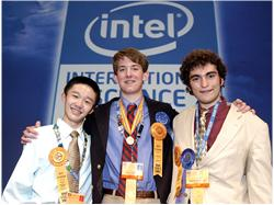 Top 3 students - Intel ISEF 2007