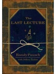 image of the cover of The Last Lecture