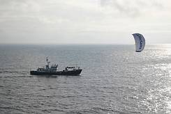 photo of Sky Sail in action