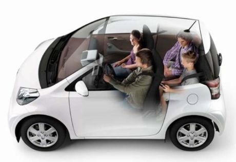 image of seating in the toyota iQ