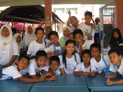 Photo of Turtle Camp Students in Malaysia