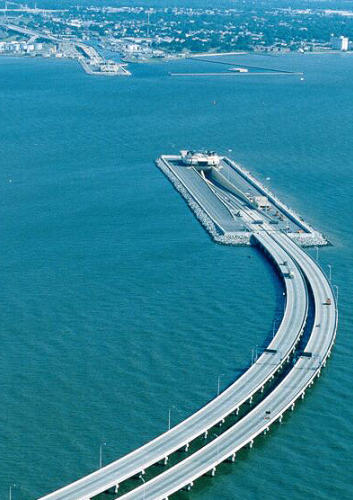 photo of Hampton Roads Virginia Bridge-Tunnel