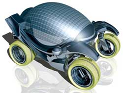 Solar concept car drawing