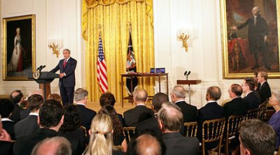 photo of White House Technology Medal Ceremony - July 2007
