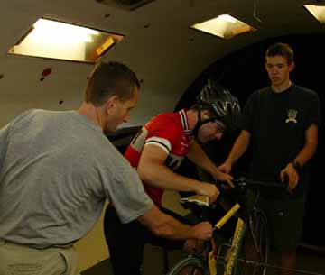 Wind Tunnel at MIT for sports testing