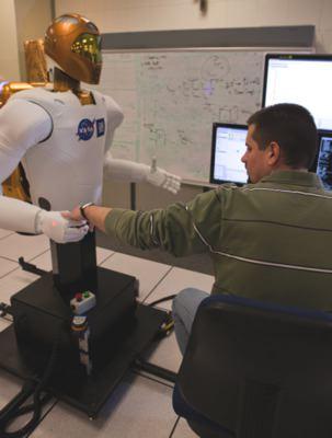 photo of humanoid GM NASA roblot