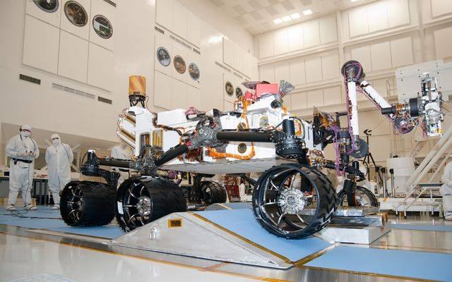 photo of NASA's Mars Rover: Curiosity