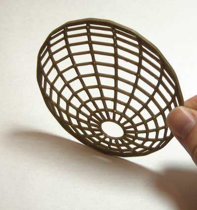 sphere mesh coaster