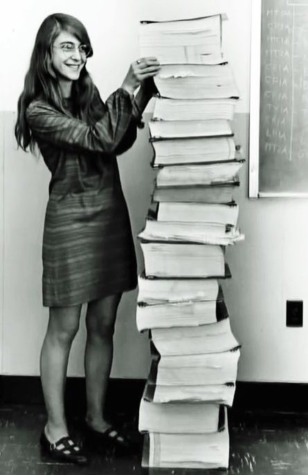 photo of Margaret Hamilton, NASA